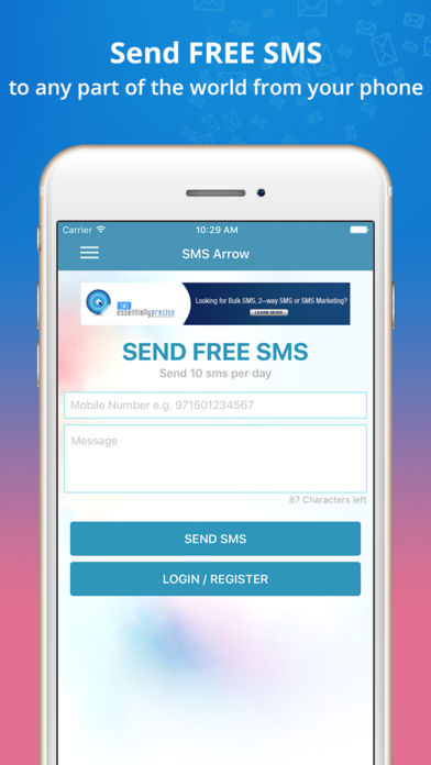 SMS Arrow – Send Free SMS