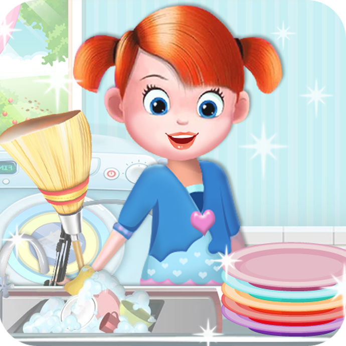 Baby Doll House Cleaning and Decoration